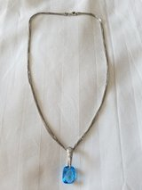 Elegant Sky Blue Topaz Necklace in Bolling AFB, DC