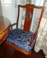 Rosewood 8ft table and 8 chairs in Fairfax, Virginia