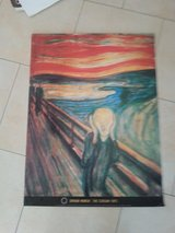 Poster - The Scream in Ramstein, Germany