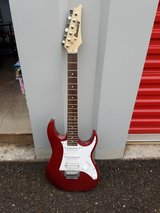 Ibanez electric guitar with small amp in Alamogordo, New Mexico