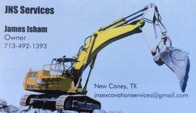 JNS Tree and Excavation Services in Houston, Texas