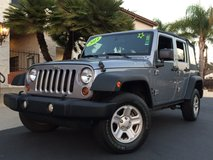 2013 Jeep Wrangler Unlimited 4x4 in Fort Irwin, California