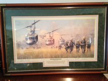 "William S. Phillips Limited Edition Framed Signed Number Vietnam War Print ""FIRST BOOTS ON THE G... in Fort Leonard Wood, Missouri"