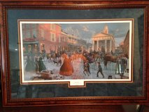 "Mort Kunstler Limited Edition Framed Signed and Numbered Print ""AFTER THE SNOW"" in Fort Leonard Wood, Missouri"
