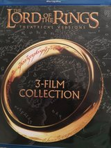 Lord of the rings (1st three of the movies) bluray in Houston, Texas