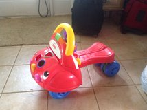 Fisher Price  2-in-1 Walker and Ride On Car in Shorewood, Illinois