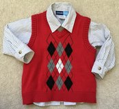 2T dress shirt with coordinating sweater vest in Elgin, Illinois