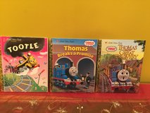Thomas and Friends and Tootsie Little Golden Books series lot of hardcover books for children in Shorewood, Illinois