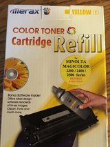 Color Toner Cartridge Refill Kit (Yellow) in Glendale Heights, Illinois