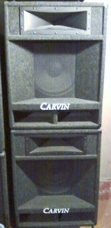 2 Carvin LOUDSPEAKERS 942 In EXCELLENT Condition !! 400 Watts EACH ! in Vista, California