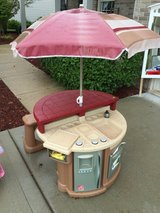 Step 2 grill and play patio set in Lockport, Illinois