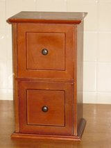"13-3/4""h x 8""w  wood chest in Bolingbrook, Illinois"