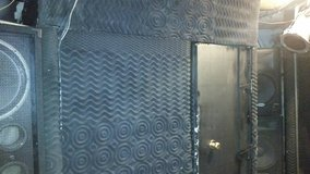 Vocal Booth and Drum Booth with Plexiglass Shield in Fort Campbell, Kentucky