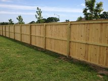 Fence Installment and Yard Work in Houston, Texas