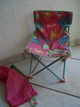 Barbie folding chair with carry bag in Stuttgart, GE