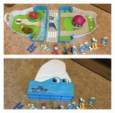 Smurfs travel toy in Beaufort, South Carolina