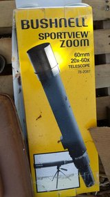 BushNell sportsview zoom telescope in Travis AFB, California