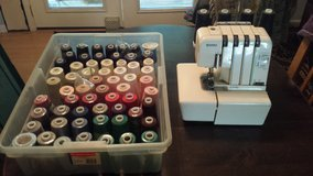 Kenmore 2/3/4D Serger + Thread Lots of Thread in Beaufort, South Carolina