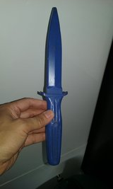 Practice plastic knife for self-defense training (good condition) in Fort Belvoir, Virginia