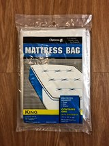 NEW King Size Mattress Bag/Protector for Moving in Okinawa, Japan