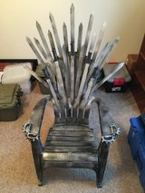 """Game of Thrones Custom """"Iron Throne"""" in Fort Campbell, Kentucky"""