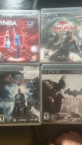 PS3 Game Bundle in Lockport, Illinois