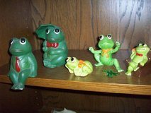 Frog collection in Ramstein, Germany