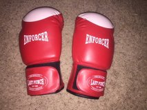 16oz Red Enforcer boxing gloves in Houston, Texas