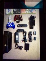 4GB XBOX 360 WITH INTERNAL HD, WITH LOTS OF EXTRAS in Fort Leonard Wood, Missouri