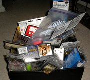 Box of sporting goods items in DeRidder, Louisiana