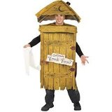Outhouse Costume in Kingwood, Texas