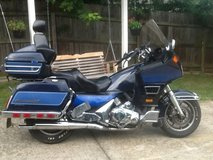 Motorcycle in Fort Campbell, Kentucky