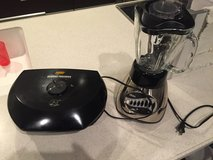 George Foreman Grill and Blender in Okinawa, Japan