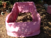 Lil Tikes Pink Race Car Bed in Fairfield, California