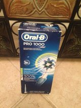 ORAL - B PRO 1000 toothbrush with 3D Action Removes 300% More Plaque & Rivals Sonicares in Camp Lejeune, North Carolina