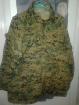 REDUCED! USMC ISSUE MARPAT WOODLAND GORTEX TOP, SIZE MED-SHORT EXCELLENT CONDITION, LIKE NEW in Cherry Point, North Carolina