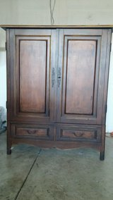 Tv cabinet / craft cabinet in Fairfield, California