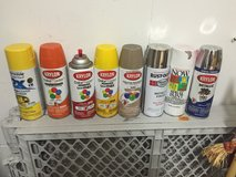 Spray paints. Take all or none. in Fort Carson, Colorado