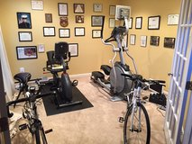 Elliptical and stationary bicycle in Fairfax, Virginia