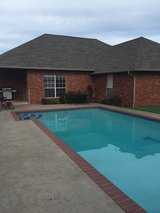 Custom built 3 bedroom home with pool in Duncan in Duncan, Oklahoma
