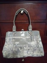 Gray Coach purse in Clarksville, Tennessee