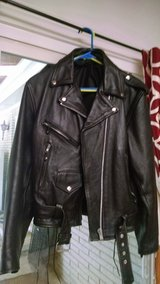 Leather Jacket (Text Only) in Byron, Georgia