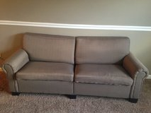 Brown couch in Dickson, Tennessee