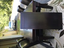 Dining Table with 4 Leather Chairs in Quantico, Virginia
