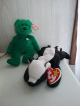 """""""Erin"""" and """"Stinky"""" TY BEANIE babies in Dover AFB, Delaware"""