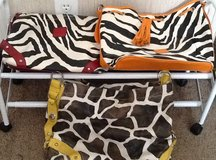 Giraffe/Animal Print Handbags in Beaufort, South Carolina