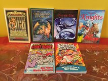 Lot of 6 children's chapter books for boys ages 7 and over in Morris, Illinois