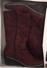 Size 11 Women Wedge Boots-Brown in Beaufort, South Carolina