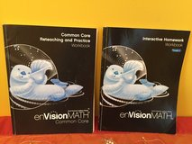 2 Common Core Math workbooks 3rd grade pearson envision in Naperville, Illinois