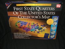 First State Quarters U.S Collector's Map Ltd Edition NEW in Plainfield, Illinois